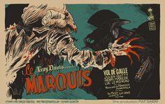 """""""Guy Davis présente Le Marquis"""", by Francesco Francavilla"""