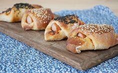 Pølsehorn - De bedste - perfekt til madpakken