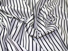 Stripe Print Jardin Stretch Cotton Sateen Dress Fabric   Fabric   Dress Fabrics   Minerva Crafts