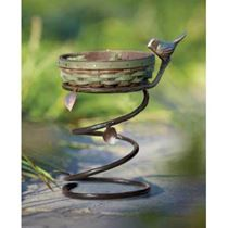 Longaberger NR - Collectors Club Birdbath Stand $6