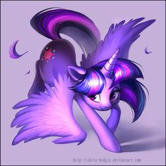 Purple dance - Twilight Sparkle by Shira-hedgie.deviantart.com on @DeviantArt