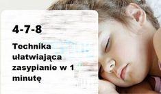 Gdy nadchodzi pora na zasypianie, stres może powodować, że nie możemy usnąć.Poznaj metodę 4-7-8, która umożliwi Ci uśniecie w mniej niż jedną minutę!