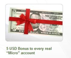 FBS Bonus Open Account and get FREE 5 USD