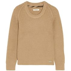 Burberry London Chunky-knit cashmere sweater found on Polyvore