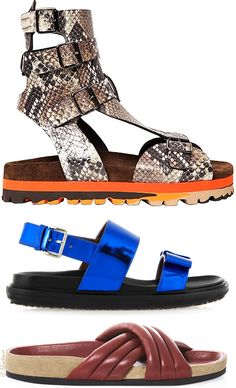 89949f1cd05 Ugly Designer Birkenstock style sandals for Spring 2014 Weird Shoes