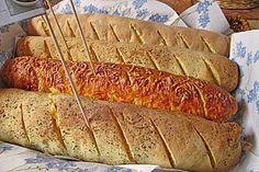 Glutenfreie Baguette-Brote - My list of simple and healthy recipes Sin Gluten, German Bread, Gluten Free Recipes, Healthy Recipes, Baguette Bread, Bagel Recipe, Recipe For 4, Recipe Ideas, Paleo Dessert