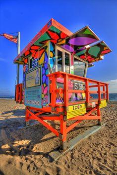 Portraits of Hope - Summer of Color, Venice Beach, California
