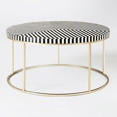 Okay, so I've been on the hunt for the perfect coffee table for an extra  special client. I know we want something super modern and oversized for  this large living space. I wanted to find something super functional yet  also unique, something with some edge. I randomly decided to see what was  new at West Elm and I was completely BLOWN AWAY! These new collections they  have are absolutely amazing. Check out my favorite ones:   MARBLE + WOOD WITH MAGAZINE RACK | GEO MIRRORED COFFEE TABLE…