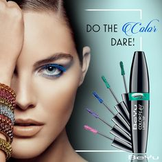Say goodbye to black as you step into a whole new world of color, and choose your latest style statement from a variety of shades. Dare to take on the new color trend!   #mascara #makeup #instamakeup #wakeupandmakeup #makeuplover #makeupforever #ilovemakeup #cosmetics #beauty #instabeauty #naturalbeauty #fashion #fashionista #beautycare #instafashion #fashionable #fashiondiaries #streetfashion #fashionstyle #matte #nail #nailart #beauty