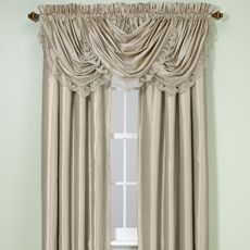 debut solid rod pocket window curtain panels - bed bath & beyond