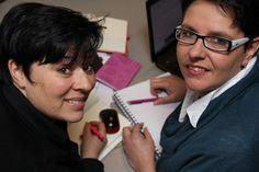 Carolin Schäufele und Katja Brößling von SHE works!