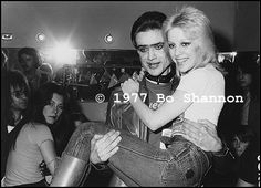 Cherie Currie and Kim Fowley