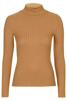 We know we obsess over the magical versatility of a turtleneck, but it is with good reason. Get one in a ribbed fabric for an added touch of casual luxe.  Topshop Ribbed Funnel Neck Top, $28; topshop.com
