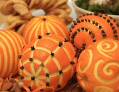 Des oranges et clous de girofle pour sentir bon Noël