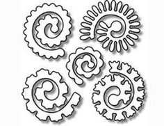 0 scanncut flowers on pinterest flower template paper for Rolled paper roses template