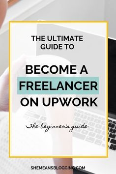 Ready to become a freelancer on Upwork? Here's the ultimate beginner's guide to work as a freelancer on Upwork. A step by step procedure to get accepted as a freelancer, and work from home Design Websites, Web Design Tutorial, How To Start A Blog, How To Make Money, Freelance Writing Jobs, Work From Home Tips, Quiz, Layout, App