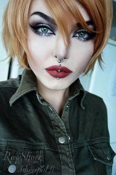 Rose shock. Стиль. Молодежный. Прически. Фото. Одежда. Style. Youth. Hairstyles. Photo. Clothing. Styl. Mládežnický. Účesy. Foto. Oblečení. Hair. Color. Piercing. Makeup.