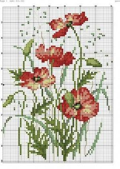 Photo by kellie Cross Stitching, Cross Stitch Embroidery, Embroidery Patterns, Hand Embroidery, Cross Stitch Charts, Cross Stitch Designs, Cross Stitch Patterns, Cross Stitch Flowers, Needlepoint