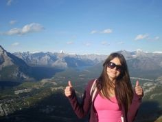 View of Banff Canada