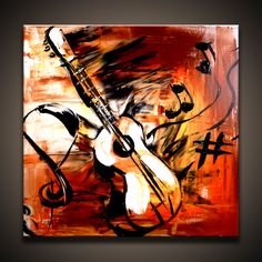 Abstract Sketches Art - Abstract Pencil Sketch Doodle By Yarko Art Painting Images, Abstract Art Images, Abstract Sketches, Music Painting, Oil Painting Abstract, Painting Frames, Art Sketches, Art Paintings, Guitar Painting