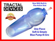 New Blue Tractal Devices Pump with Built-In Active Seal