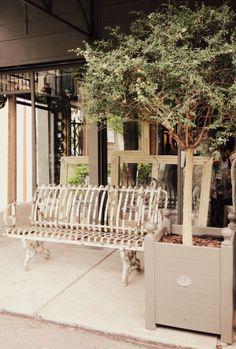 Antique Paris bench-FleaingFrance