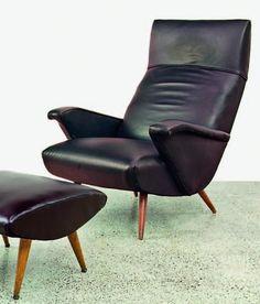 Bob Roukema; Lounge Chair for Jon Jansen, 1950s.