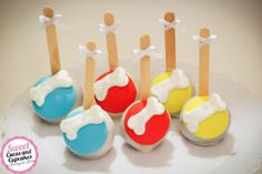 Sweet Cucas and Cupcakes by Rosângela Rolim: Pop Cakes Tema Patrulha Canina