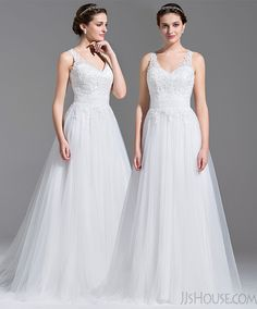 The wedding dress will make you look like a princess.#JJsHouse #JJsHouseWeddingDress