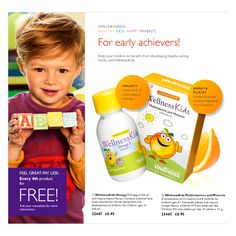 Omega 3 fish oil for children - The Omega 3 oil provides the whole spectrum of beneficial fatty acids found in fish oil required for the normal growth and development of children. Omega 3 will ensure the healthy growth and development and immune system of your child. Pure lemon oil is used as flavouring of the oil.  The fish oil is purified in 5 steps according to the latest technology. For children ages 3+ #Omega3 #fishoil for children - #OriflameUk #Wellness #WellnessKids