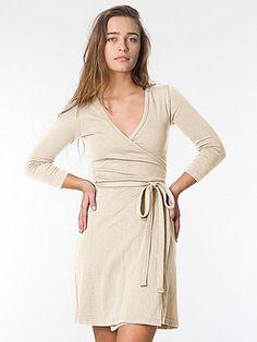 Interlock Wrap Dress 44 not sure, dark color