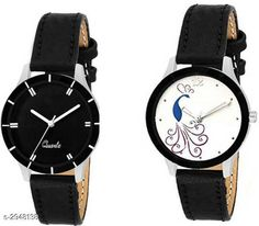 Watches  Leather Women's Watches (Pack Of 2 ) Material: Leather  Size: Free Size Type: Analog Description: It Has 2 Pieces Of  Women's Watches Country of Origin: India Sizes Available: Free Size   Catalog Rating: ★4.1 (489)  Catalog Name: Stylish Leather Women's Watches Combo Vol 15 CatalogID_401825 C72-SC1087 Code: 942-2948138-525