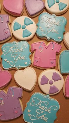 Radiology Nurse Thank You Cookies