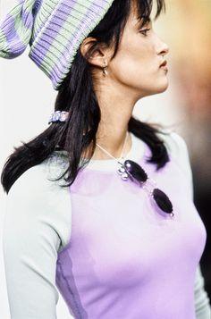 Perry Ellis Spring 1993 Ready-to-Wear Fashion Show - Yasmeen Ghauri