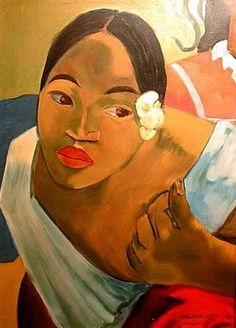 A Paul Gauguin portrait Paul Gauguin, Henri Matisse, Gauguin Tahiti, Impressionist Artists, Art Moderne, Art Plastique, Art History, Pop Art, Illustration Art