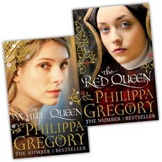 philippa gregory books - The White Queen, The Red Queen War of the Roses