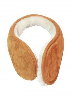 Wrap up this winter! These versatile super soft suede finish earmuffs can be worn over the top of your head the same as a traditional earmuff or, wrapped snugly around the back of your head. They are unisex and have a sprung band to ensure they fit comfortably. Finished in a rich tan colour the band is a soft brushed suede, whilst the inner lining is 100% sheepskin, keeping you warm on those chilly winter days.  http://exmoorsheepskin.inventiveweb.co.uk/product/unisex-sheepskin-earmuffs/