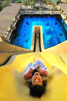Take new heights in the famous Aqua waterpark in Dubai, done that