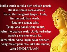 Penderitaan adalah pilihan, kita bisa memilih untuk tidak menderita Buddhism, Religion, Wisdom, Teaching, Education, Onderwijs, Learning, Tutorials