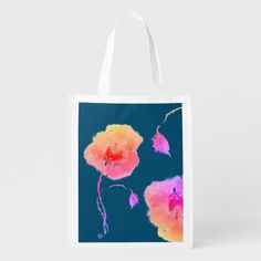 Shop Crazy pink Poppy Reusable Grocery Bag created by Buy_ArtDuo. Pink Poppies, Reusable Grocery Bags, Save The Planet, Holiday Photos, Romantic Weddings, Mother Earth, Custom Clothes, Fathers Day Gifts, Wedding Anniversary