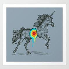 Unicore II Art Print by Rachel Caldwell - $19.00