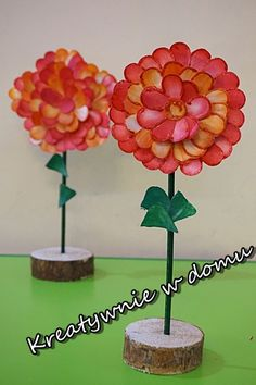 Kwiaty dla babci | Kreatywnie w domu