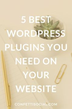 Find out the 5 best WordPress plugins that you need on your website.