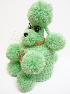 Mint Green Toilet Tissue Poodle Cozy by MyPalPeppy on Etsy