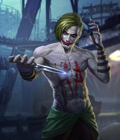 Batman & The Dark Knights of Gotham — The Joker by Infinity1729