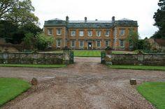 Farnborough Hall in the rain 080510, via Flickr.