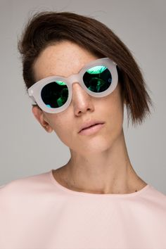 Cat Eye Sunglasses with round