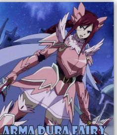 Erza's armour