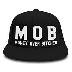 MOB MONEY OVER BITCHES SNAPBACK FLAT PEAK HAT CAP GANGSTER HIP HOP NEWBlack Inct http://www.amazon.co.uk/dp/B00M6NMP1G/ref=cm_sw_r_pi_dp_56uWvb0YC7ZG9