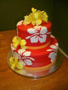 Hawaiian Cake  www.contemporarycakery.com